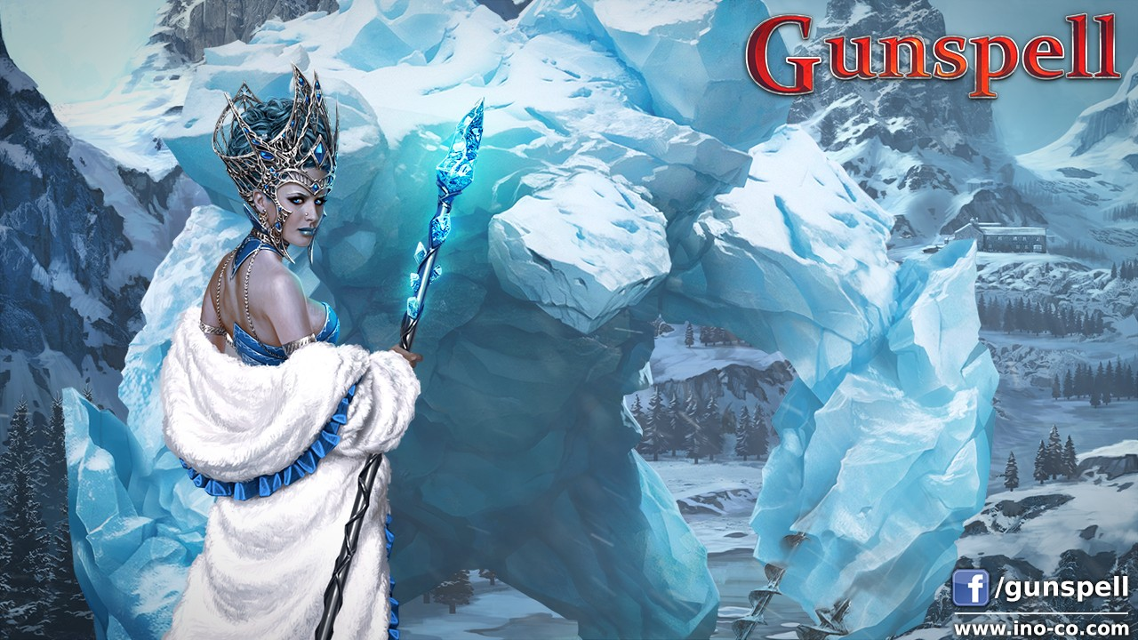 Gunspell Winter Wallpaper