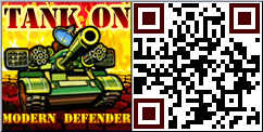 Tank ON Modern Defender QR Code